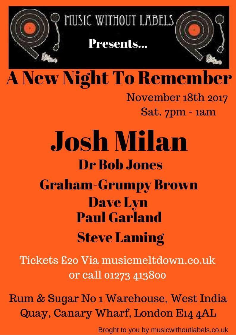 A New Night To Remember with Josh Milan