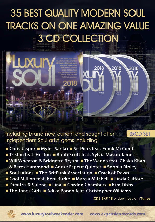 Luxury Soul 2018 CD