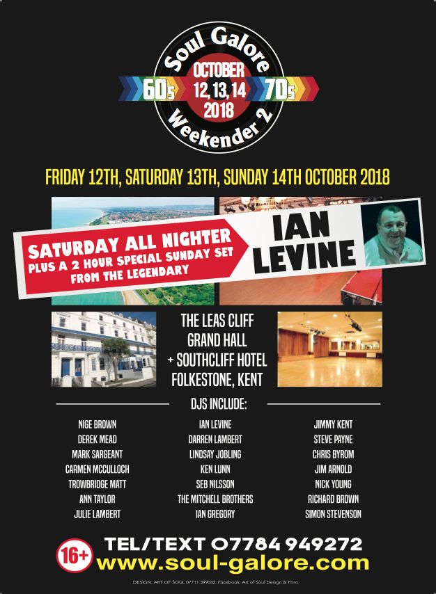 Soul Galore Weekender Oct 2018