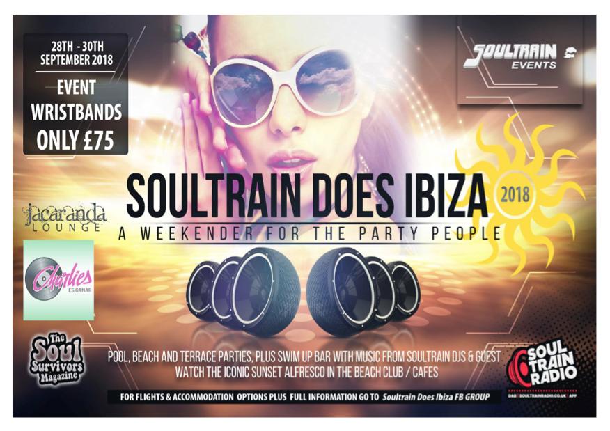 Soultrain Does Ibiza
