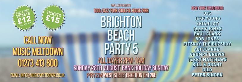 Brighton Beach Party 5 - 138x47mm Jpeg