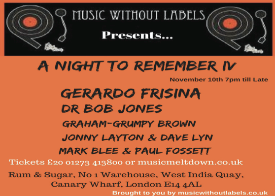 A Night To Remember 10th November 2018