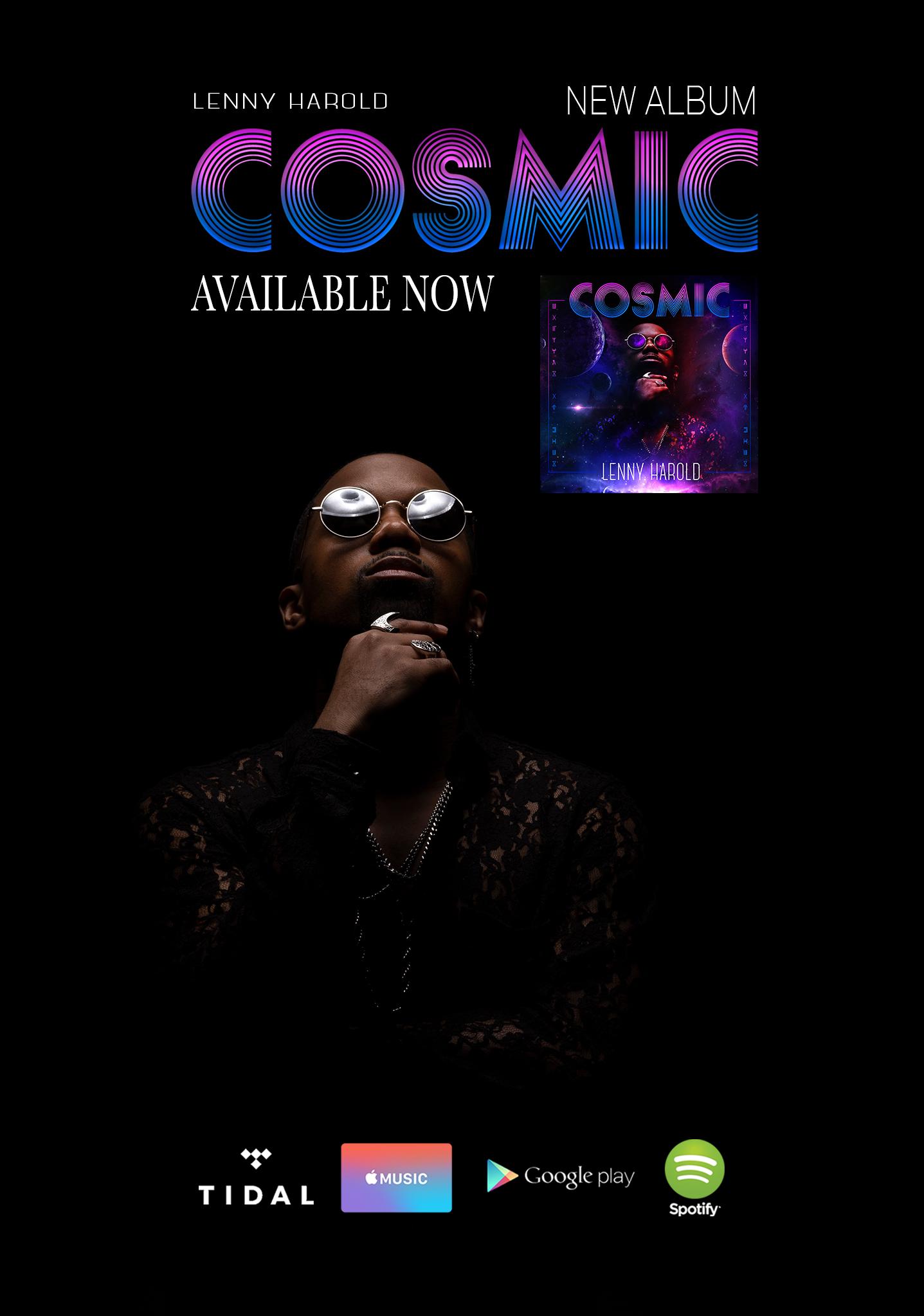 Lenny Harold Cosmic album
