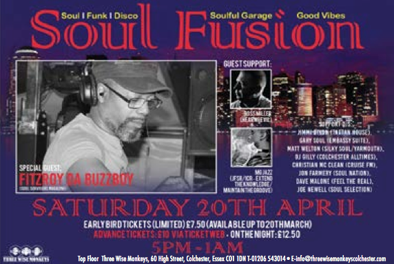 Soul Fusion 20th April 2019