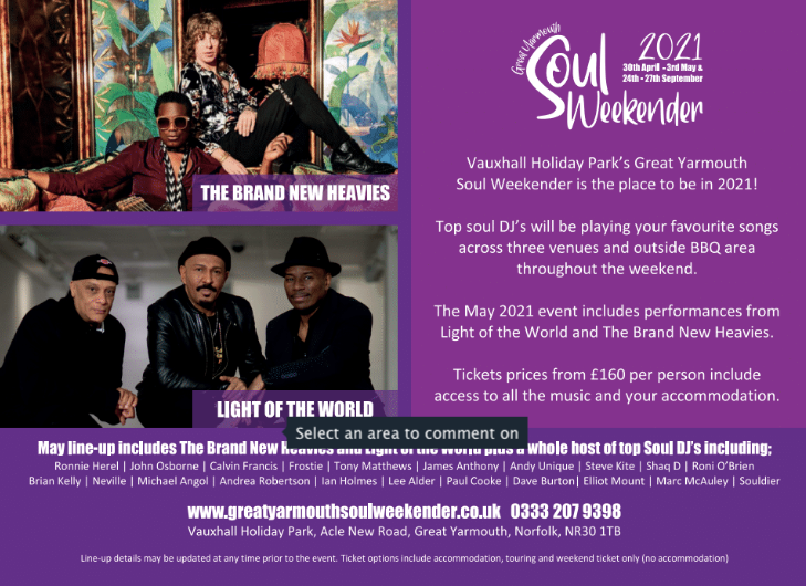 Great Yarmouth Soul Weekender