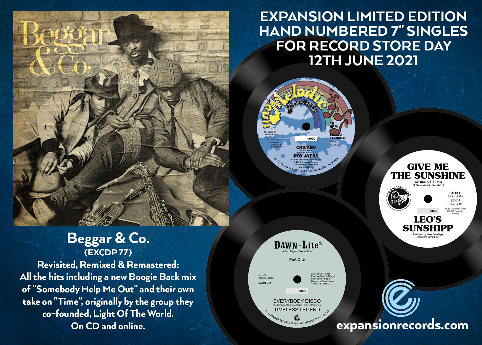 Beggar & Co album on Expansion Records